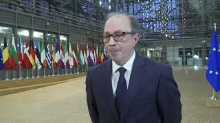 Doorstep statement by Foreign Minister of Armenia Ara Aivazian at Armenia-EU partnership council