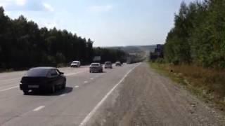 Выезд из Екб на Пермь блокирован