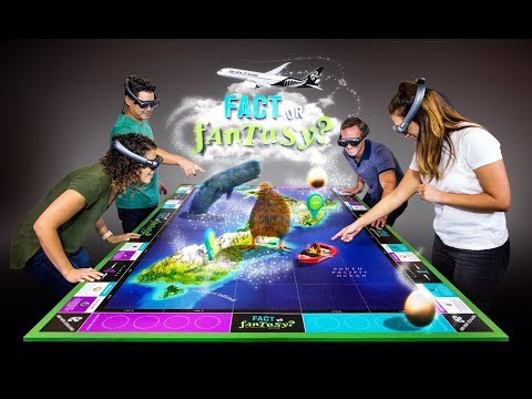 Air NZ unveils Magic Leap One augmented reality board game - Augmented World