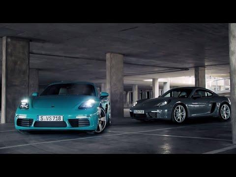 Porsche  718 Купе класса A - рекламное видео 3