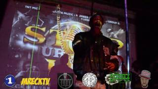 "MRECK, FORBEZDVD, AND DB RAXX ""STEP UR BARS UP"" EVENT AT THE PAPERBOY IN BROOKLYN"