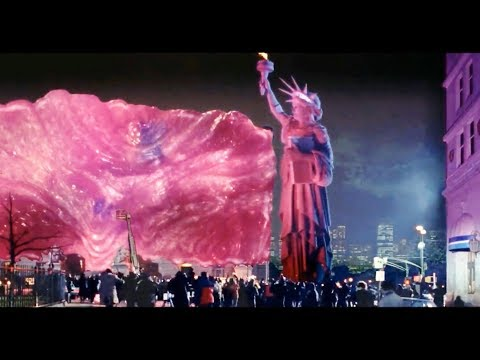 1989 - Ghostbusters 2 - Statue of Liberty scene (Higher and Higher)