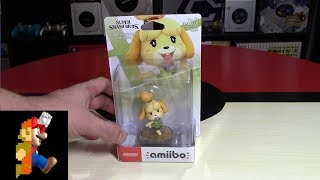 Isabelle Amiibo Unboxing + Review (Smash Bros. Version)