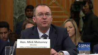 OMB Director Mick Mulvaney on whether he