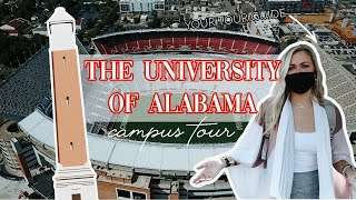 THE UNIVERSITY OF ALABAMA CAMPUS TOUR | Lecture Halls, Student Center & more | Part 1