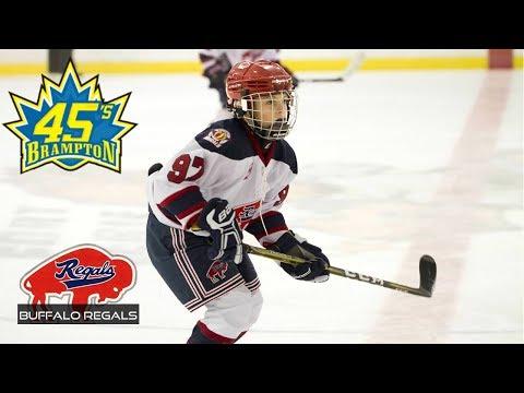 Kids Hockey Huge Comeback Buffalo Regals v Brampton 45's SCTA Novice