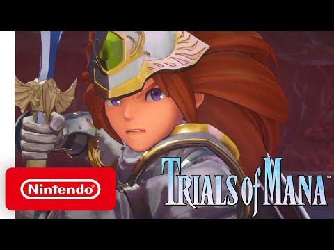 Trials of Mana - Your Adventure Begins Trailer - Nintendo Switch