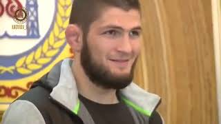 Хабиба Нурмагомедова чествовали в Чечне