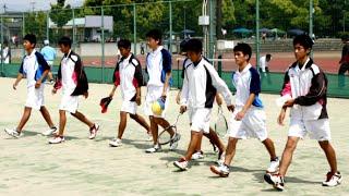 祐誠高校ソフトテニス部練習