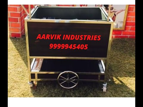 Stainless Steel Bussing Trolley