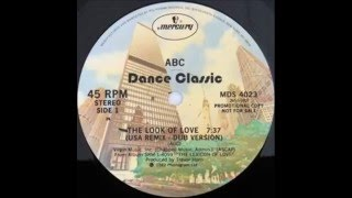 ABC - The Look Of Love (U.S.A. Remix - Dub Version)
