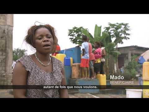 Accès à l'eau potable dans les communes périphériques de Kinshasa-Est avec l'appui de l'UE
