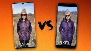 Huawei P30 Pro vs Google Pixel 3 Camera Comparison!