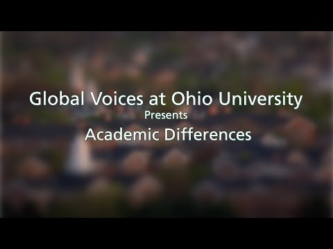 Academic Differences at Ohio University