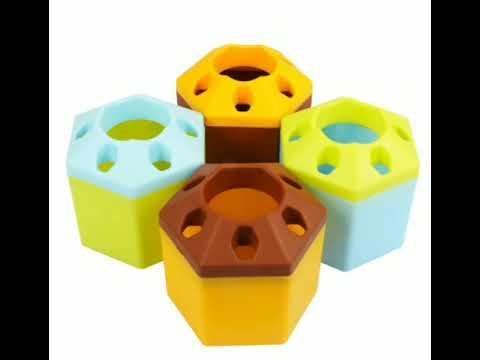 Multi Purpose Plastic Pen Stand