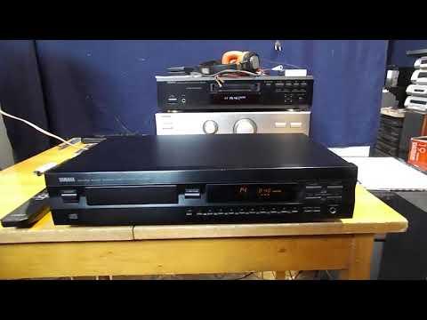 YAMAHA CDX 493 CD LEJÁTSZÓ DIGITÁLIS OPTIKAI+RCA ANALOG KIMENETEL - 16900 Ft - (meghosszabbítva: 2882381294) Kép