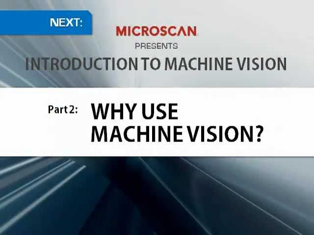 Introduction to Machine Vision Part 1, Definition & Applications