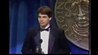 Scott Wise wins 1989 Tony Award for Best Featured Actor in a Musical