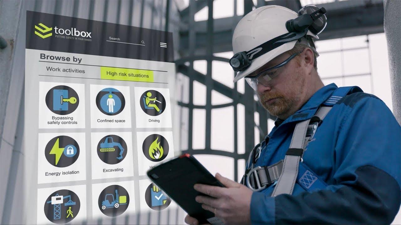 Toolbox - Meletakkan keselamatan di tangan anda