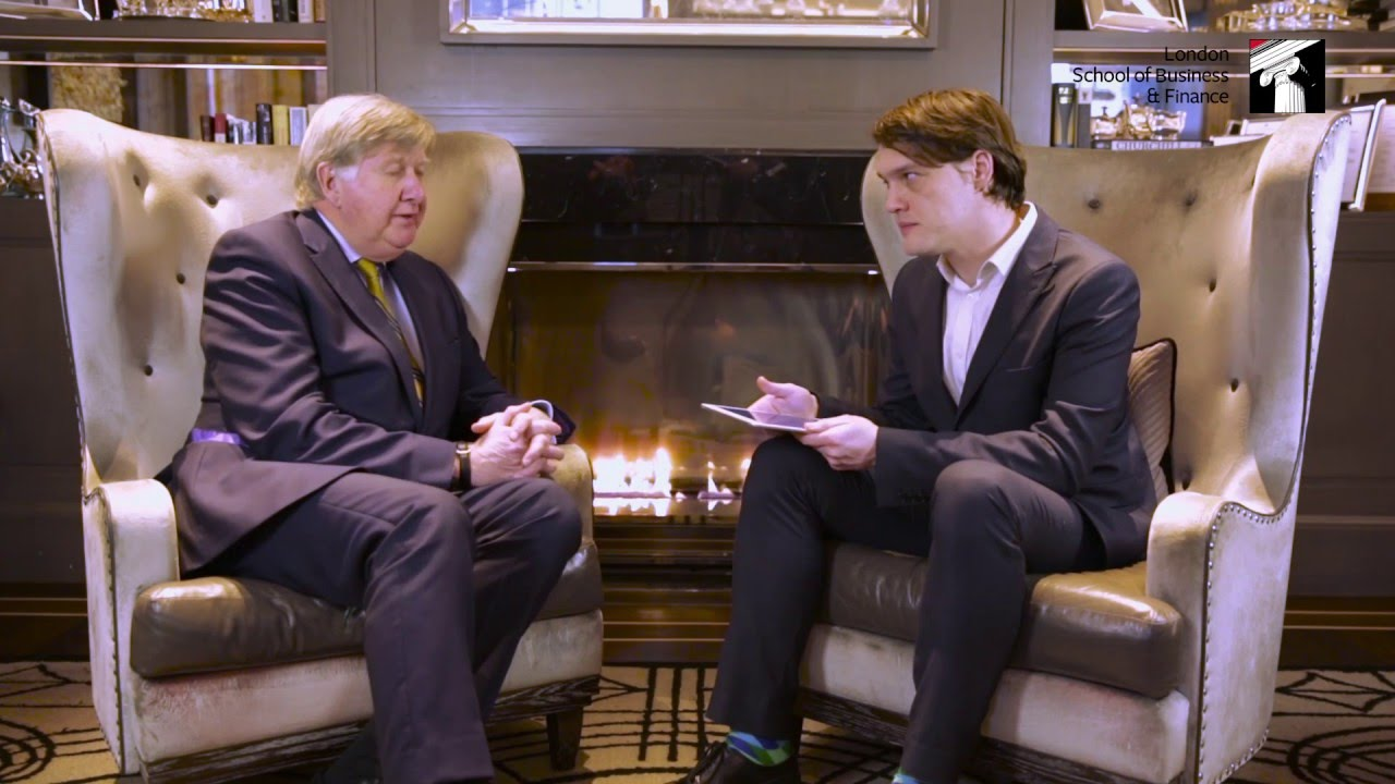 Video: Great Minds series - LSBF interviews Michael Gray, General Manager of the Hyatt Regency London - The Churchill