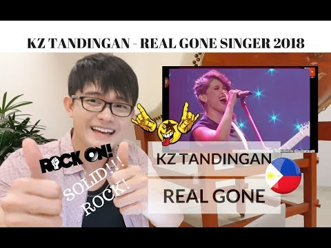 [REACTION] SOLID ROCK PERFORMANCE Of KZ TANDINGAN W/ REAL GONE (CARS OST) | Singer 2018 |  #FridayKZ