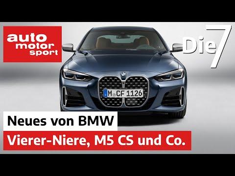 Monster-Nieren am 4er, Facelift 5er und radikaler M5 CS: 7 Fakten zu BMWs Neuen | auto motor sport