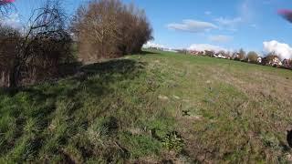 Test flight DJI FPV race drone