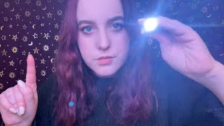 ASMR   FOCUS   Light Triggers   Finger snapping and Screen Tapping ✨