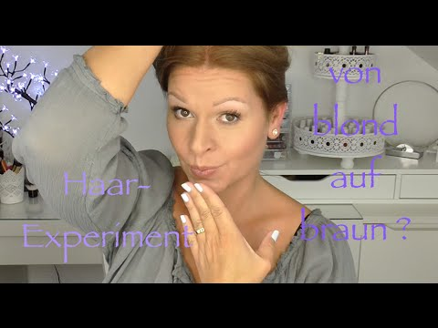 Haare färben mit Wella Koleston blond/braun -Das Experiment deutsch HD