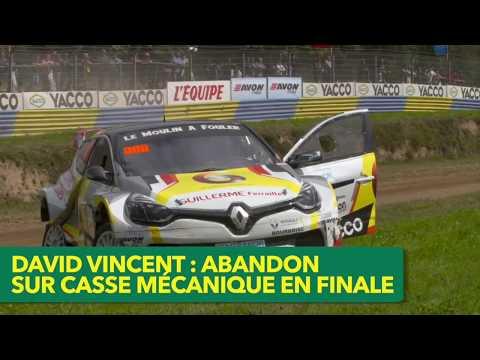 Rallycross 2017 - Les pilotes locaux Mathieu Trévian et David Vincent à Kerlabo...