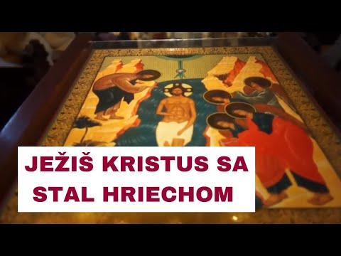 Sviatok Bohozjavenia: Pri každom jednom krste sa otvára nebo