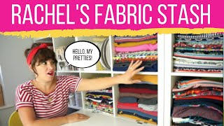 My Fabric Stash | Fabric Storage Ideas For Sewing Room Organization