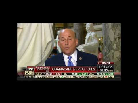 Gohmert on Obamacare Repeal Fail:
