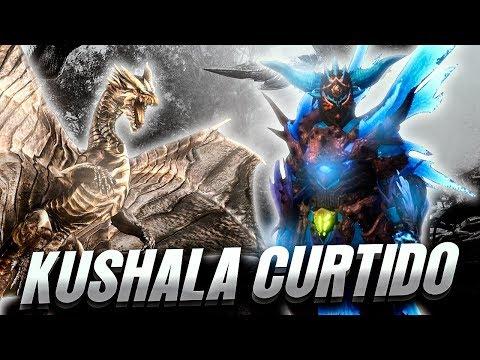 GRAN PALIZA A UN DRAGON ANCIANO CURTIDO (KUSHALA) | MONSTER HUNTER WORLD