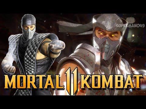 """SMOKE ZERO LOOKING AMAZING! - Mortal Kombat 11: """"Sub-Zero"""" Gameplay"""