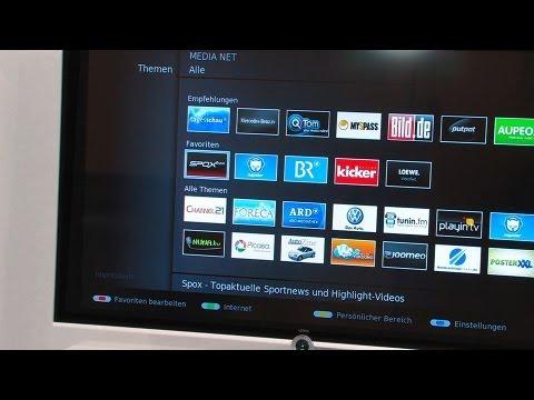 Smart-TV: Apps und Internet auf dem Fernseher