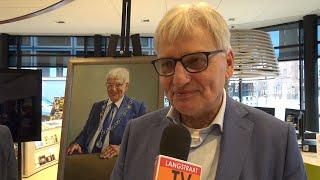 Onthulling Portret Wim Luijendijk - Langstraat TV