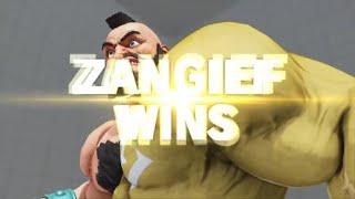 Donnierizzle (Zangief) vs spidey_mikey (Mika) SFV match 1