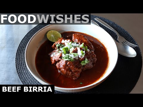 Beef Birria – Mexican Stewed Beef