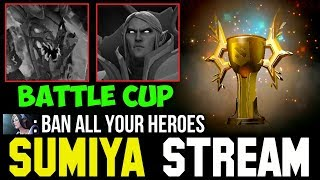 when Invoker & Visage are Banned 😁 Sumiya Battle Cup Stream Moment #113