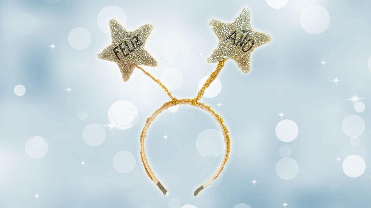 Cómo hacer una diadema para el Año Nuevo