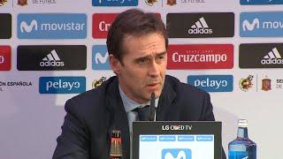 """Lopetegui sobre Morata: """"Tiene las opciones intactas"""""""