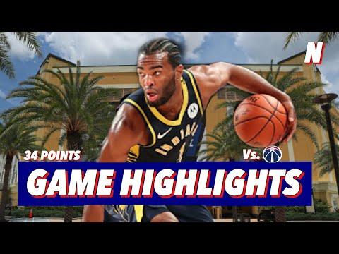 TJ Warren 34 Point 11 Reb – Game Highlights   August 3, 2020   2019-20 NBA Season