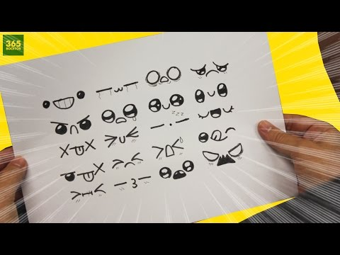 Expresiones Kawaii Para Tus Dibujos Dibujos Kawaii