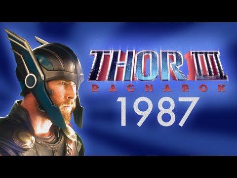 Thor 3: Ragnarok – 1987 Trailer (Nerdist Presents)