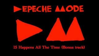 Depeche mode -  Happens All The Time (original instrumental)