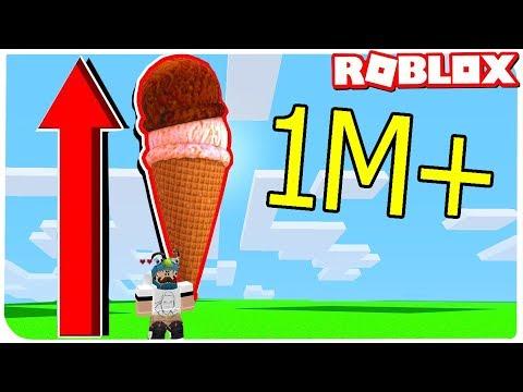 ПОБИЛ МИРОВОЙ РЕКОРД 1,000,000 ШАРИКОВ МОРОЖЕННОГО !!! | ROBLOX ПО РУССКИ |
