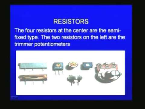 IIT Lectures on Electronics - Electronic Devices - Part 1