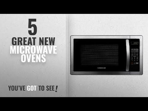 , Farberware FMWO11AHTBKB Classic FMO11AHTBKB 1.1 Cubic Foot 1000-Watt Microwave Oven, Stainless Steel