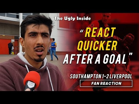 """React quicker after a goal!"" 